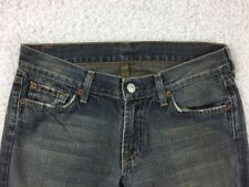 7 For All Mankind Women's Bootcut Blue Jeans Size 27 Cut 104529