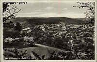Bad Sommerstein Saalfeld Saale Thüringen alte s/w AK 1930 gelaufen Gesamtansicht
