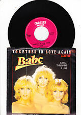 """7"""" Babe - Together in Love again  -----"""