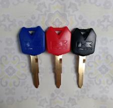New 3 Colors Blank Key Uncut Fit for Kawasaki Ninja Zx6r Zx10r Zx12r Z1000 Motor