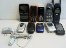 Lot Cell Phones Samsung Lg Huawei Nokia Toshiba Part/Not Working Samsung Charger