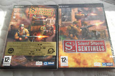 S2 SILENT STORM & EXPANSION PACK SENTINELS PC ( French versions, new & sealed )
