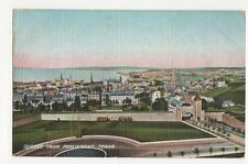 Quebec From Parliament Tower Canada Vintage Postcard 194a