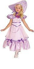 Girls Lavender Purple SOUTHERN BELLE Costume Dress + Hat Brim Child Large 12 14