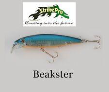 minnow beakster blu esca artificiale pesca spinning spigola mare bass trota