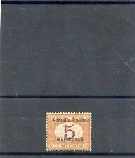 ITALIAN SOMALILAND Sc J1(MI P1)*VF LH $10