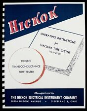 Hickok KS-5727-L1 Tube Tester Manual