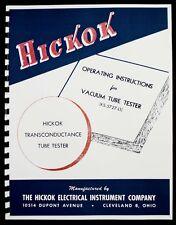 Hickok Ks 5727 L1 Tube Tester Manual