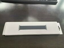Apple Braided Solo Loop Charcoal Apple Watch Band size 8 44mm