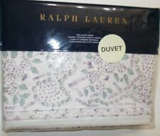 Ralph Lauren Alessandra Ardsley Plum Floral TWIN Duvet Cover Plum NEW NIP