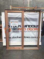 Timber Sliding Door 2105h x 1810w DOUBLE GLAZED IN STOCK NOW LEFT HAND SLIDE NEW