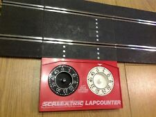 SCALEXTRIC CLASSIC TRACK c277 MANUAL LAP COUNTER EXC COND REFURBISHED TESTED