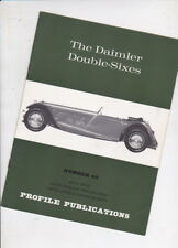 The DAIMLER DOUBLE SIXES by Bill Boddy 1966 Profile Publications 12p Booklet