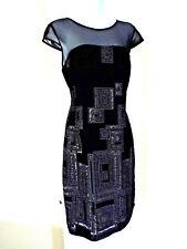 NEW***SUZANNE Canada Sz 10 knit DRESS black!!