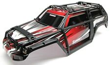 Summit UPDATED BODY (RED & BLACK ExoCage Cover Shell, Traxxas #5607