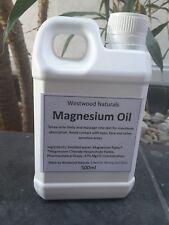 500ml Refill Magnesium Chloride Oil Dead Sea Massage Sleep Aid Detox 100% Pure