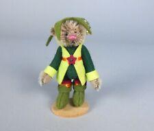 Deb Canham Jade Brown Mohair Elf Bear Miniature Animal