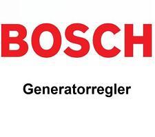 Volvo V60 V40 Schragheck S80 II S60 BOSCH Lichtmaschine Generatorregler 2007-