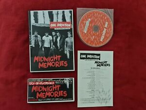 One Direction Midnight Memories Ultimate Edition Japan CD 21 songs booklet OBI