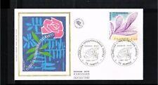 [LF020] 1977 - France FDC Mi. 2027 - Flora - Flowers