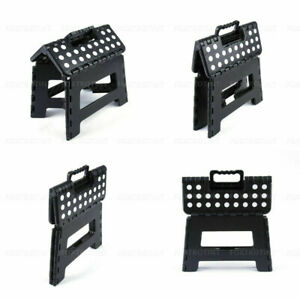 Portable Folding Step Stool Plastic Foldable Chair Store Outdoor Camping Chairs