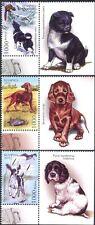 Belarus 2010 Spaniel/Setter/Hunting Dogs/Nature/Animals 3v + lbl set (n32052a)