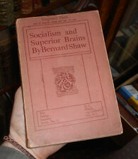 Bernard Shaw - Socialism and Superior Brains - Reply to Mr. Mallock - 1st 1910