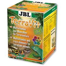 JBL TerraVit- Vitamine und Spurenelemente für Terrarientiere 100 g