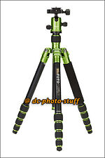 MeFoto RoadTrip A1350Q1 Aluminium Tripod Monopod Kit GREEN * EXPRESS SHIP