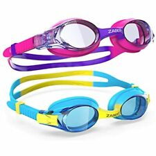 New listing Zabert 2-Pack Kids Swim Goggles, Swimming For Toddler Youth Girls Boys Junior Jr