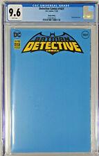 Detective Comics #1027 Blank Variant Cover CGC 9.6 DC Comics 2020