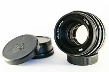 Helios 44M f2 lens modified for infinity focus on Nikon DSLRs