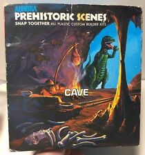 Aurora Prehistoric Scenes CAVE! Kit # 732-300 SEE PICS and description!