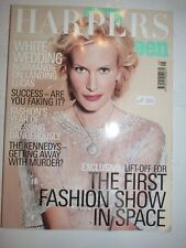 Magazine mode fashion HARPER'S & QUEEN may 2000 Normandie Keith