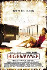 HIGHWAYMEN MOVIE POSTER 2 Sided ORIGINAL FINAL 27x40 JIM CAVIEZEL RHONA MITRA