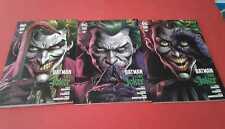 Dc Black Label- Libro 1- Batman- tre Joker- Spillato- di Geoff Johns- Panini