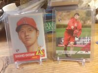Shohei Ohtani Los Angeles Angels RC2018ToppsNOW OD-167 RC+Topps 7 Lot Of 2 Cards