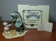 The World of Krystonia - Gurneyfoot & Shadra Ltd Ed w/Box and S&N (#1734) Card