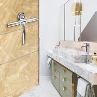 Stainless Steel Window Glass Wiper Clean Squeegee Shower Bathroom Mirror Brush C