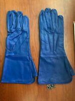 Leather Gauntlet Cosplay Renaissance Armor Swordsman Medieval Gloves