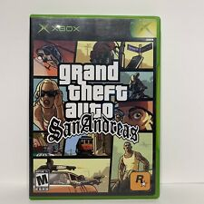 Grand Theft Auto San Andreas Xbox Gta W/ Manual - Tested