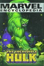 MARVEL ENCYCLOPEDIA HC ~  THE INCREDIBLE HULK   OOP 2003 NEW