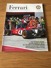Ferrari Owners' Club Magazine issue 203 Jun 18 Ferrari 312B at FI GP imola Track
