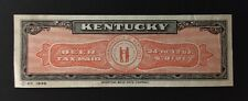 Kentucky State Revenue - .0121 cents 24-32 oz. Beer Tax #B12 - used - sound - KY