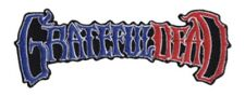 Grateful Dead 50th Anniversary Embroidered Patch G026P Jerry Garcia Jimi Hendrix
