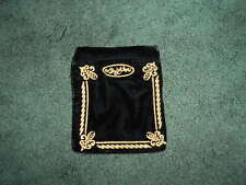 BRIGHTON JEWELRY ZIPPERED VELVET POUCH.   NEW
