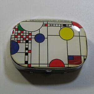"Vintage Frank Lloyd Wright ""Playhouse White"" Sewing Kit/Pill Box by ACME Studio"