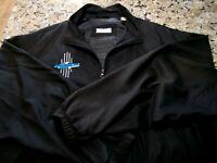 Bobby Chan Thunderbird Classic Car Men's 2XL Black Jacket Full Zip 100% Silk