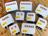 Outdoor Illuminated Rocker Switch box for Ponds, Pumps Lighting etc