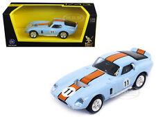 1965 SHELBY COBRA DAYTONA LIGHT BLUE #11 1/43 DIECAST CAR ROAD SIGNATURE 94242